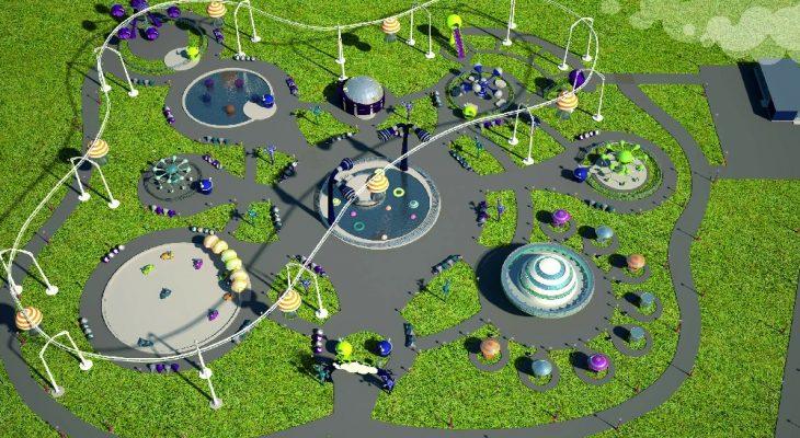 Гагаринский парк в саратовской области будет видно из космоса