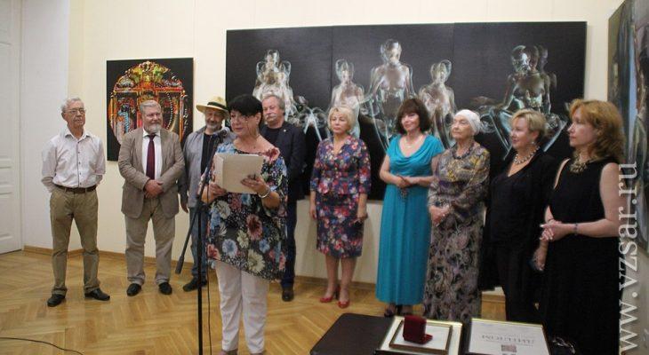 В Радищевском музее прошло награждение в честь лауреатов премии Петрова-Водкина